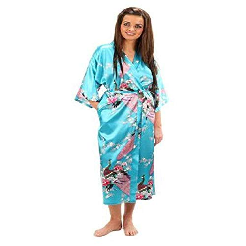 Handaxian Brautkleid Robe Silk Robes Silk Pyjamas Lässige Bademantel Rayon Lange Pyjamas Als Foto Zeigen XL