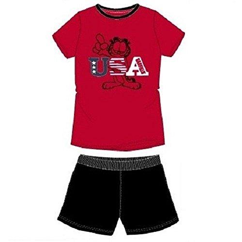 Garfield Pyjama Shorts USA Gr. Large, Mehrfarbig