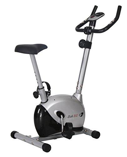 Cyclette Ride 202 magnetica con volano da 5 Kg per allenamento home-fitness, portata max 100 Kg