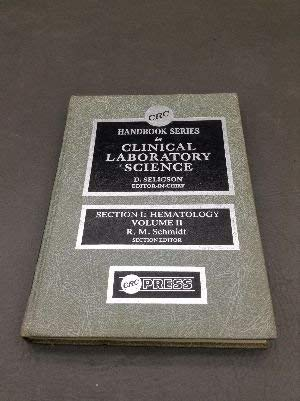 Clinical Lab Sci SERIES Section I Hematology  Vol 2 (Handbook of Clinical Laboratory Science)