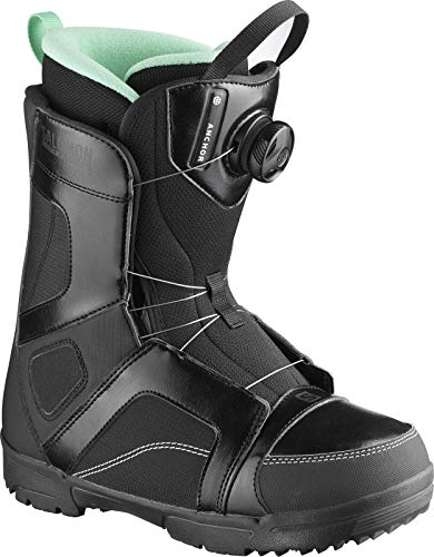 Salomon Damen Anchor Boa Woman Snowboard Boots schwarz 26