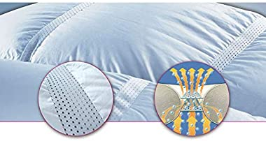 """Climabalance Lightweight Comforter Queen- Breathable Cool Duvet Insert - Down Alternative - Hypoallergenic Shell & Fill - Patented - Increases Deep Sleep REM up to 50% - Queen 88"""" x 88"""""""
