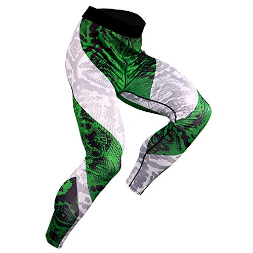 MELKEVDY Pantalón De Compresión Secado Rápido Pantalones Deporte Mallas Largas Pantalones De Compresión Mallas Deportivas Frescas Polainas para Toda La Temporada,I,XL