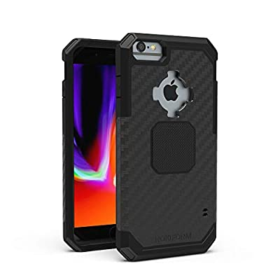 Rokform - iPhone SE (2nd generation)/8/7/6 Magnetic Case with Twist Lock, Military Grade Rugged iPhone Case Series (Black)