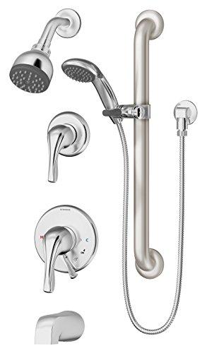 Symmons S-9606-PLR-TRM Origins 1-Handle Tub & Shower Faucet Trim, Chrome