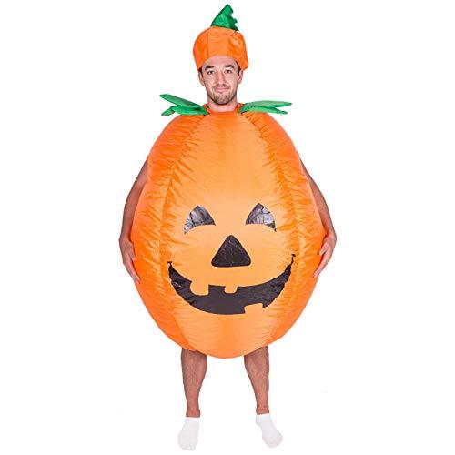 J.Sparking Halloween/Christmas Party Aufblasbare Masquerade Spoof Großen Kürbis Kleid Cosplay Kostüm Für Erwachsene, Kinder