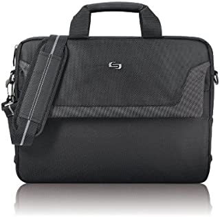 Solo Flatiron 16 Inch Laptop Slim Brief, Black