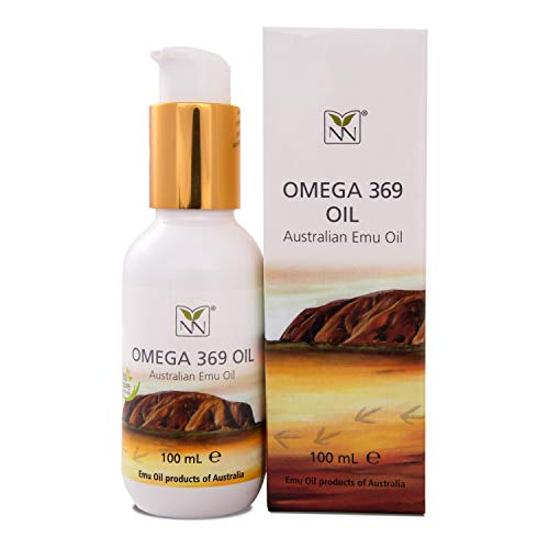 Pure Australian Emu Oil 100ml (3.5 oz), (Omega 369 oil), Manufacturered to TGA, HACCP and GMP certified,made in Australia. Powerful acting food supplement for the skin