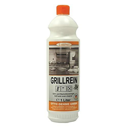 Lorito Grillrein 204, Grillreiniger Backofenreiniger Fettlöser Küche Grill Gastronomie Konzentrat Entfetter Küchenreiniger 1 Liter