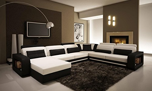 VIG Furniture VGEV-SP-1005-1 Divani Casa 1005C - Contemporary Black and White...
