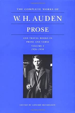 Prose and Travel Books in Prose and Verse: 1926-1938