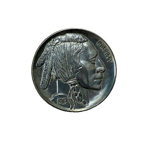 "Price comparison product image Loftus International Jumbo 3"" Indian Head Buffalo Nickel Fake Play Coin"