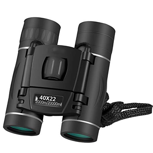GKD Regalos Profesionales Prismáticos 40X22 Telescopio del Zumbido HD Visión Infrarroja Sin Ocular Al Aire Libre Trave
