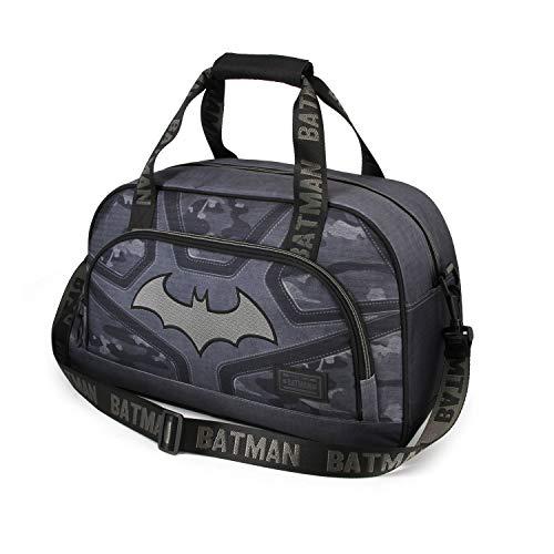 Karactermania Batman Fear-Borsa Sportiva Pocket, black