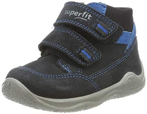Superfit Baby Jungen Universe Sneaker, Grau (Grau/Blau 20), 22 EU