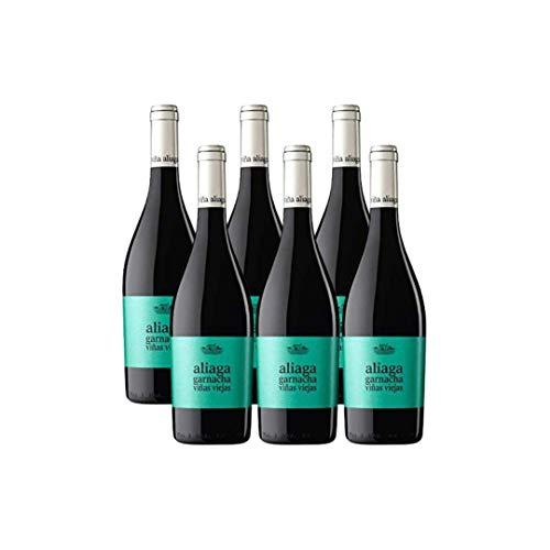 Aliaga Garnacha Vieja 2016 pack 6 botellas, Vino tinto de Navarra. 100% garnacha de la Bodega Viña Aliaga
