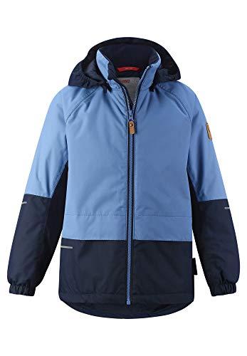 Reima Boys AHO Jacket Blau, Herren Regenjacke, Größe 122 - Farbe Dark Denim