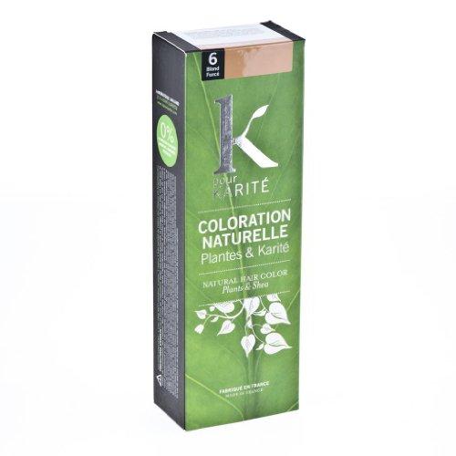 Colouring Karite Plant Dark Blond N6 by K pour Karit