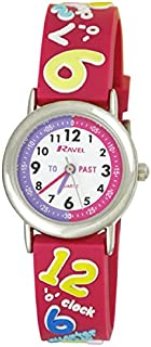 """Ravel Time Teacher Girls 3D""""Know Your Numbers"""" Rubber Strap Watch R1513.41"""
