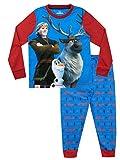 Frozen Pijamas de Manga Larga para niños El Reino del Hielo Azul 4-5 Años