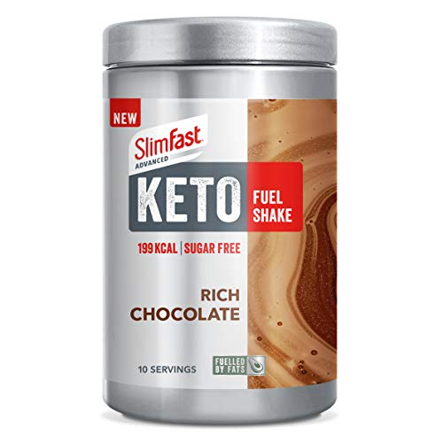 SlimFast Advanced Keto Fuel Shake Rich Chocolate 350g SF007994