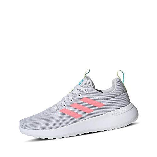 adidas Unisex-Erwachsene Lite Racer CLN K Laufschuh, Dash Grau Glory Pink Gelbstichig, 39 1/3 EU