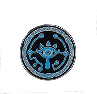 SNES The Legend Zelda Breath The Wild Sheikah Eye Enamel Pin Badge-Officially Licensed Nintendo Product