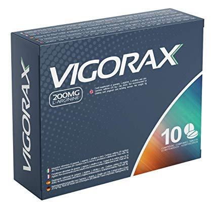 Vigorax 200mg 10 Comprimidos | Efecto...