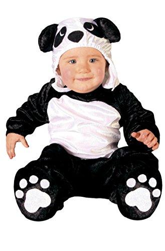 FIESTAS GUIRCA Disfraz Bebé Luxe - Oso Panda 12-24 meses