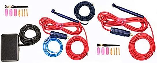 NOVA Tig Kit Accessory Kit compatible with Everlast PowerTIG 255EXT