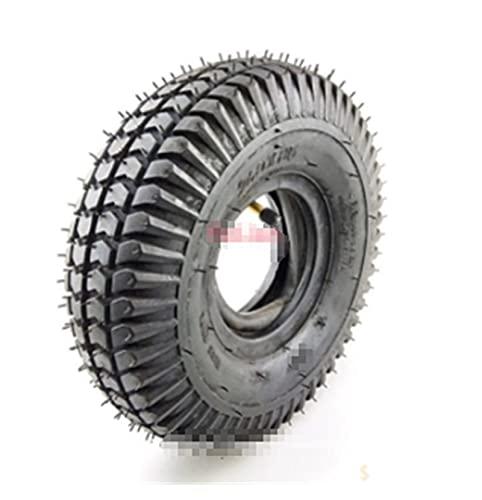 GUANGMING ZhengFeng Shop 260x85 Neumático 3.00-4 00x3 Ajuste del neumático Interno y Externo para ATV y GO Kart CUADO Y Tubo Motor NEULTE (Color : 1 Outer Tire)