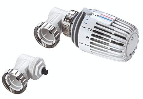 TA Heimeier 7300-00.500 Thermostat-Kopf WK mit eingebautem Fühler und 2 Sparclips