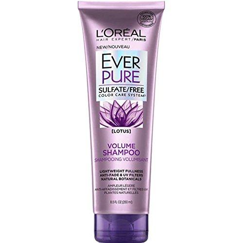 of loreal paris volume shampoos L'Oreal Paris EverPure Volume Shampoo 8.5 oz