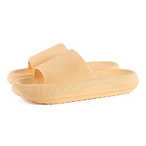 CHAW Sandalias de Suela Gruesa Sandalias Suaves Zapatillas de Casa Zapatillas Antideslizantes Dormitorio Casa Gimnasio Piscina Sandalias