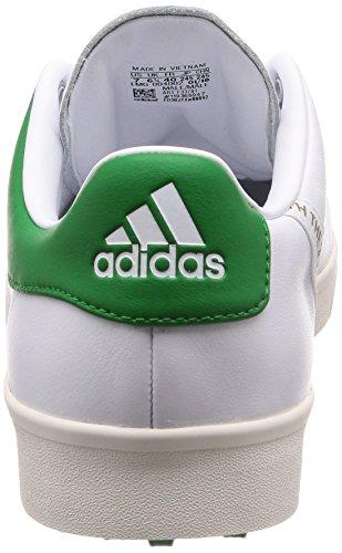 [アディダスゴルフ]ゴルフシューズアディクロスクラシックワイドメンズホワイト/ホワイト/グリーン25cm