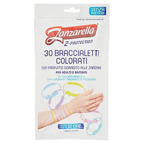 Zanzarella, Braccialetti Antizanzare per Bambini e Adulti, Bracciale Antizanzare in Silicone Atossico con Repellente per Zanzare Naturale a Lunga Durata