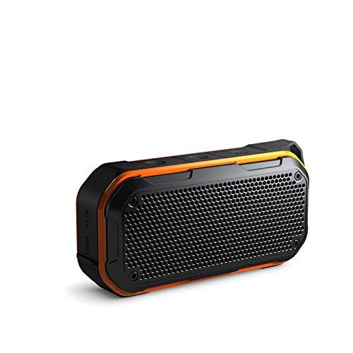 Bluetooth Lautsprecher Wasserdicht, KIYEDAM Mini Lautsprecher 5.0 Kabellose Tragbarer 10W Outdoor Mini Lautsprecher, IPX7 wasserdicht, Eingebauten Mikrofo, 24-Stunden Spielzeit, 360° TWS Stereo Sound