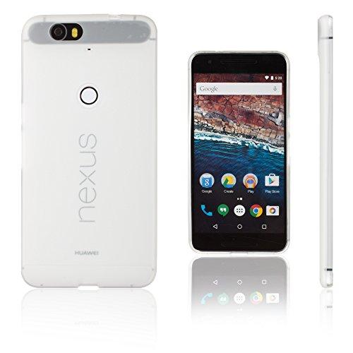 Xcessor Vapour Flexibel TPU Gel Schutzhülle Für Huawei Nexus 6P. Opaco Weiß