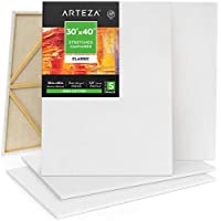 5-Pack Arteza 30 x 40 Inch Stretched Canvas