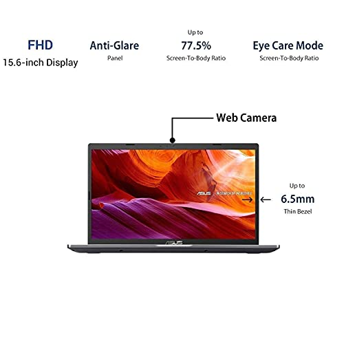 ASUS VivoBook M515DA-BQ511T-AMD Ryzen 5-3500U 2.1 GHz / 8GB RAM /512GB SSD / Integrated Vega 8 Graphics/15.6-inch FHD / Windows 10 Home /FP Reader / 1.9 kg / Grey / 1 Yr Warranty