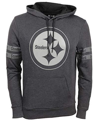 New Era Pittsburgh Steelers Hoody NFL Black Tonal Black - XXL