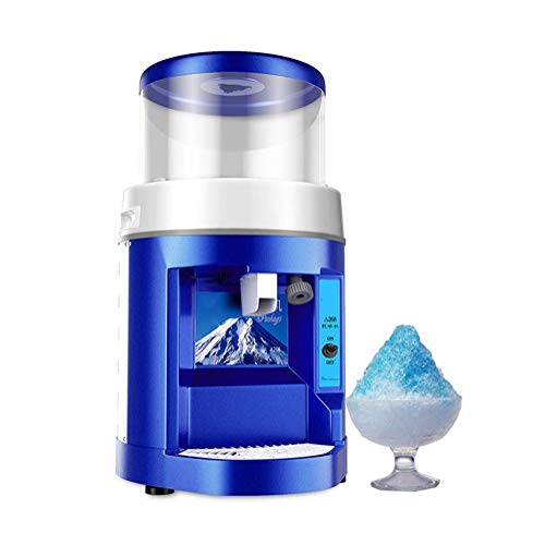 Ice blender Home Mini Ice Crusher Manual Shaved Ice Machine Countertop Smoothie Maker Multi Function Ice Shaver,Easy to Use and Clean,Wide Range of Applications best gift