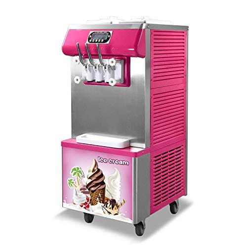 Kolice Commercial Envío libre Certificado CE Panasonic Compresor 3 sabores 2+1 mezclado suave Servir helado máquina Gelato helado máquina