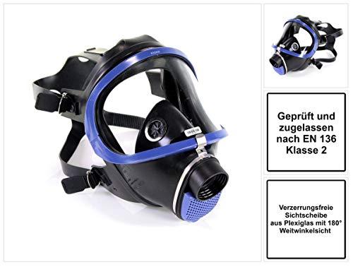 Atemschutzvollmaske X-plore 6300 EPDM/Plexiglas 4701000113