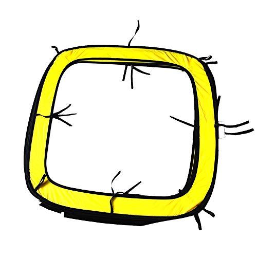 Eariy Drohne Hindernisse Wettbewerb Die TüR üBerqueren, 31X31X31Inches Drohnen Hindernisparcours Durch Die TüR Leicht Zu Bauendes Racing Drone Kit, Einfach Zu Bauen Tragbar (Fluoreszierendes Grün)