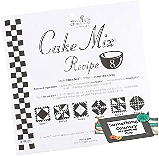Moda Cake Mix Recipe #7 ~44 recipe cards will make 176 3