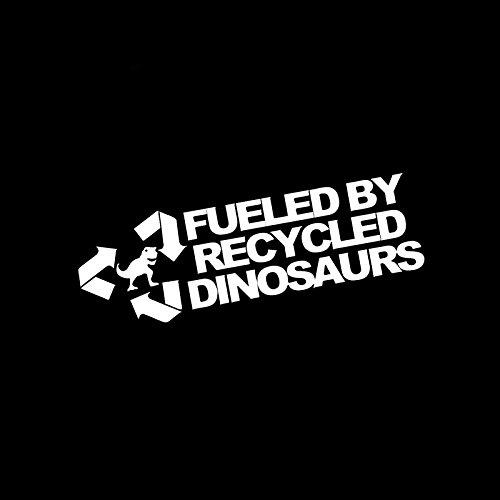 junjie006 Dinosaurio Reciclaje Pegatinas de Coche Cross Country Diesel Vehículo Motocicleta Auto Partes Exterior Decoración Personalidad Diversión Decal PVC engomada del
