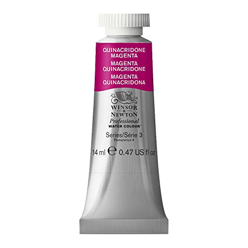 Winsor & Newton Professional Water Colour Paint, 14ml tube, Quinacridone Magenta