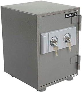 خزانة امنة ضد الحرائق مع 2 قفل مفتاح للاغلاق من ماهماي، 30 كجم، Sd101T