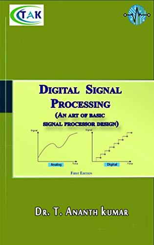 Digital Signal Processing : An art of basic signal processor design